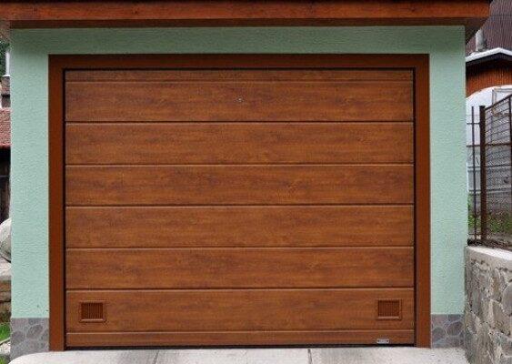 Sekční EVO garažová vrata