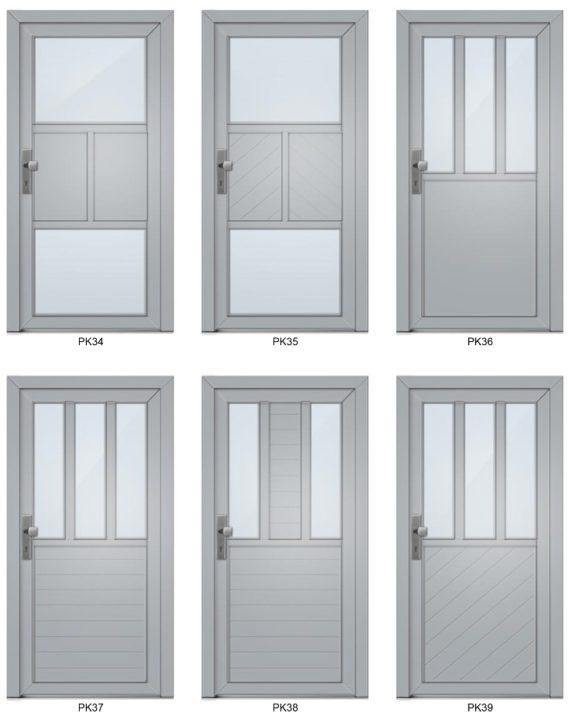 Barevné možnost plastových oken - Classic Colors